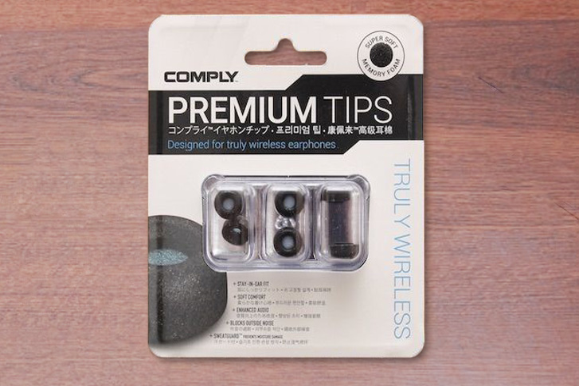 comply(コンプライ)のワイヤレスイヤホン向けのイヤーピース